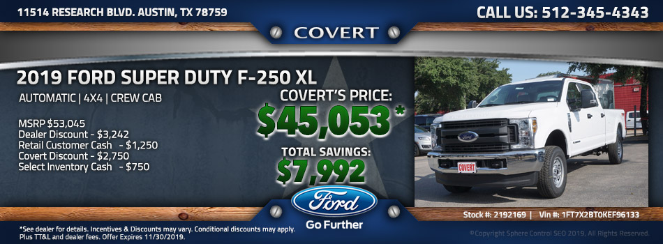 Austin best price new Ford F-250