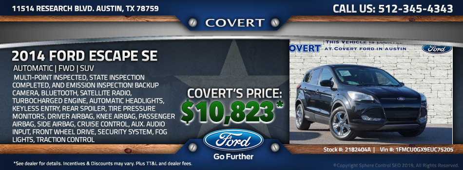 austin best price used Ford Escape