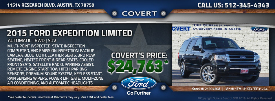 austin best price used Ford Expedition
