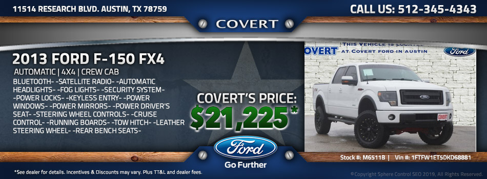 austin best price used Ford F-150