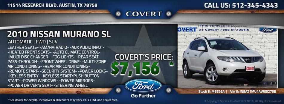 austin best price used Nissan Murano