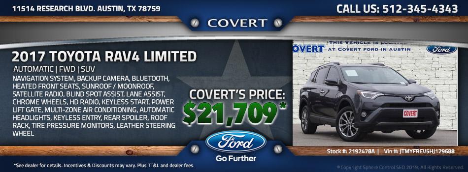 austin best price used Toyota RAV4